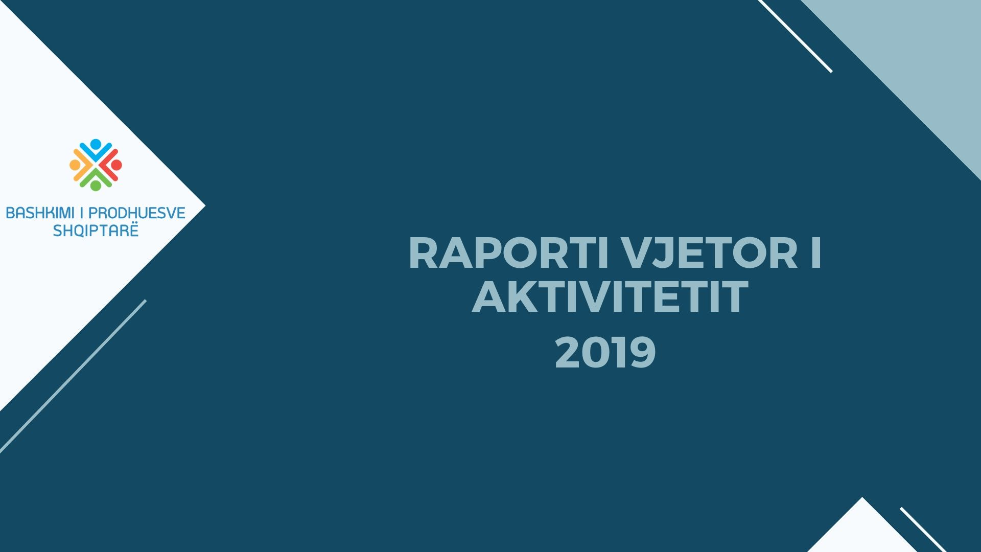 RAPORTI VJETOR I AKTIVITETIT 2019